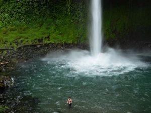 arenal waterfall