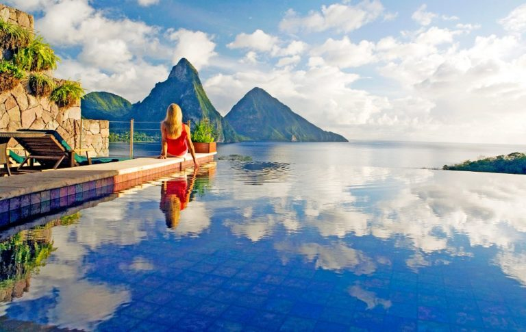 jade mountain Travel St. Lucia