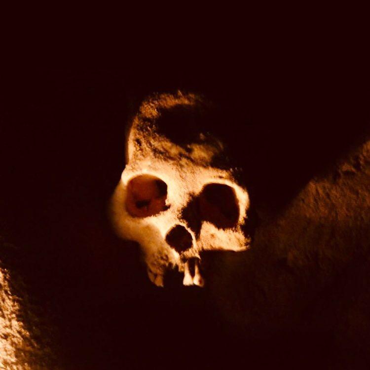Mayan artifact skull