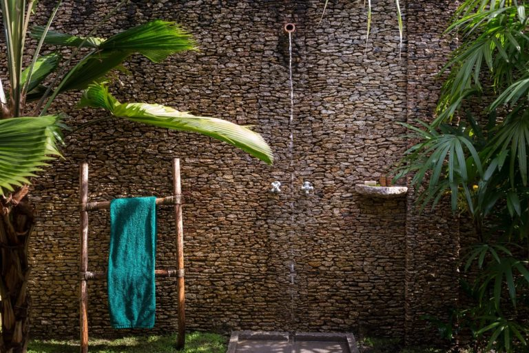 wellness outdoor shower travel central ameria