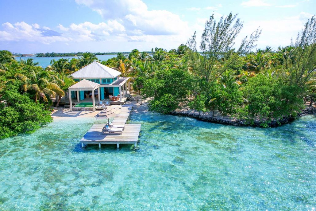 Belize pampered island honeymoon
