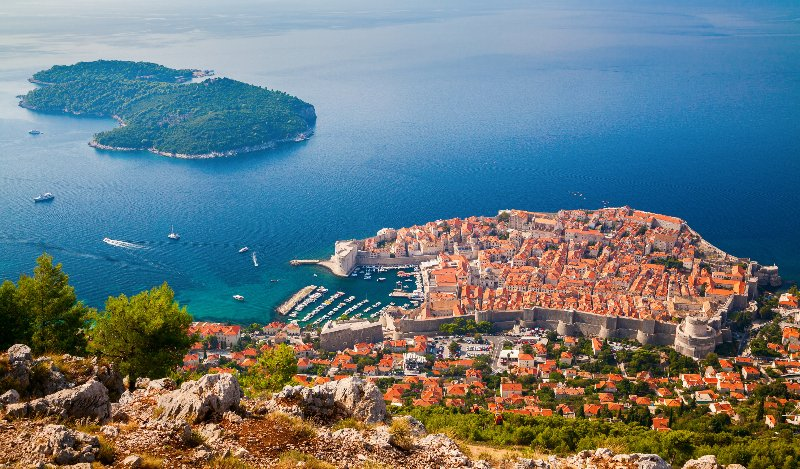 Explore the beautiful city of Dubrovnik, Croatia