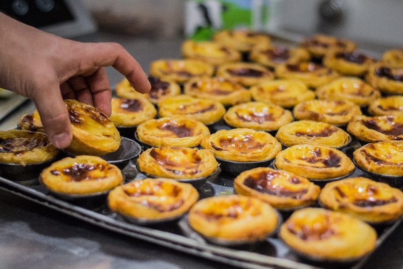 Custard tarts are a local treat not to be missed