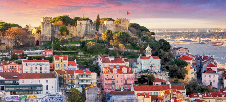 Lisbon Castle Walls