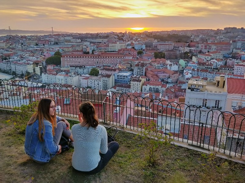 Lisbon from above from one of seven hills in the city - Photo by Tomas Halajcik