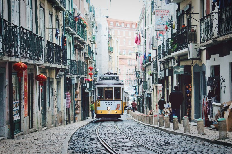 Lisbon's street cars add a touch of old world charm