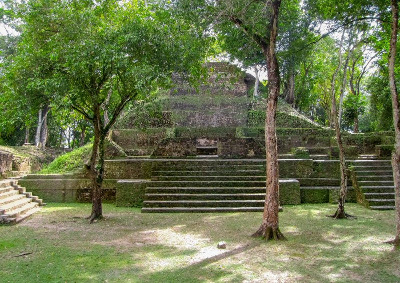 The Mayan temple complex of Cahal Pech