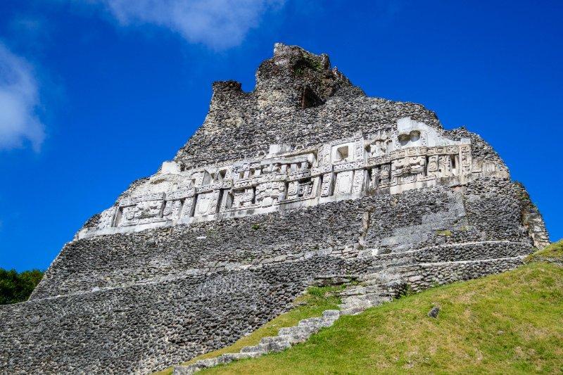 Xunantunich mayan temple ruins in near San Ignacio