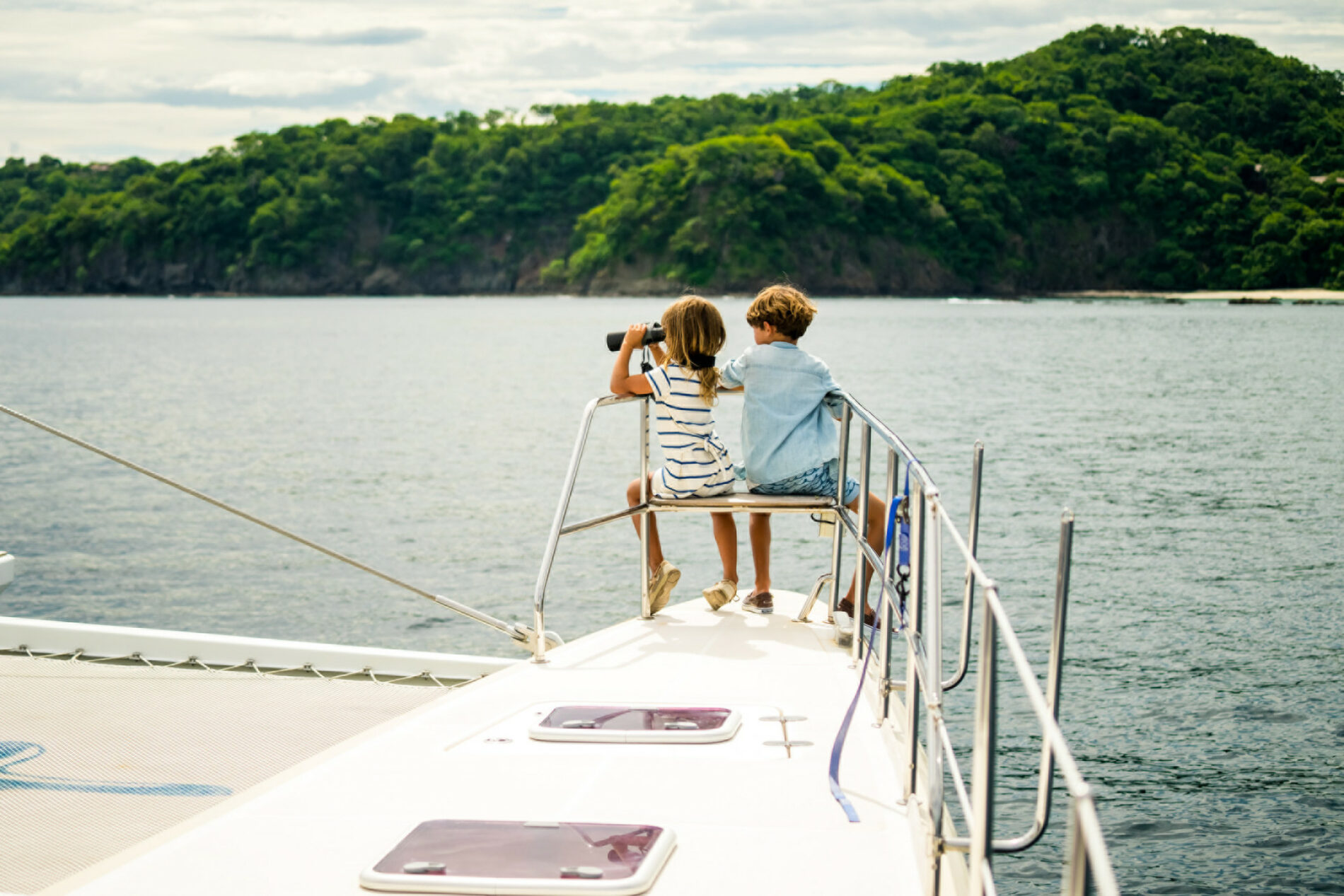 Explore the ocean on your own-private sailboat or catamaran